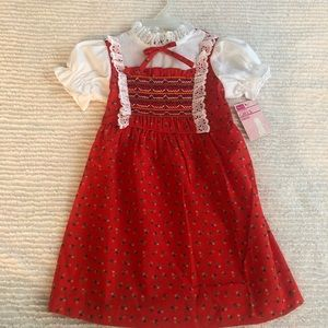 VINTAGE NEW WITH TAGS!! Little girls size 5 dress